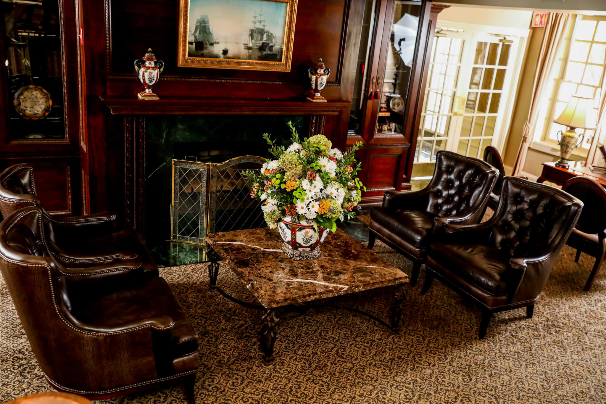 Olde Mill Inn Lobby Chairs