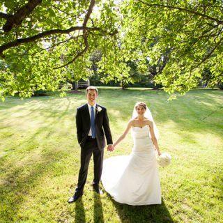 Olde Mill Inn Wedding Couple