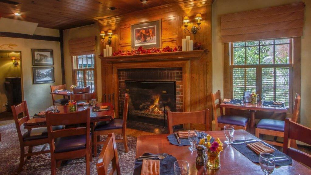 Coppertop Pub Fireplace