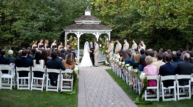Olde Mill Inn Gazebo Wedding