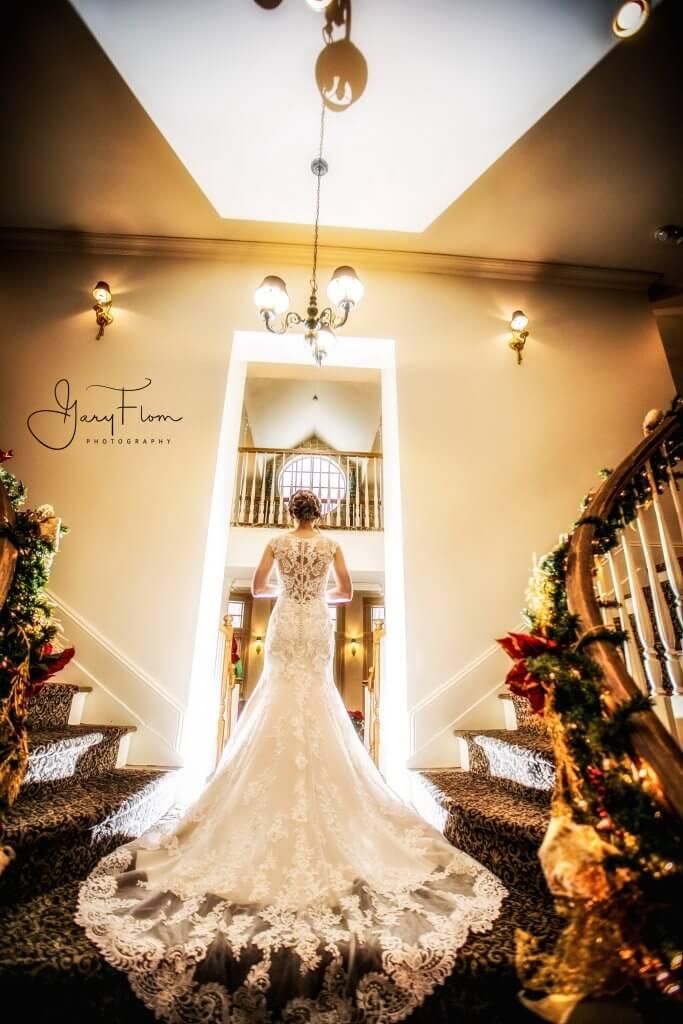 Olde Mill Inn Wedding - Grand Staircase