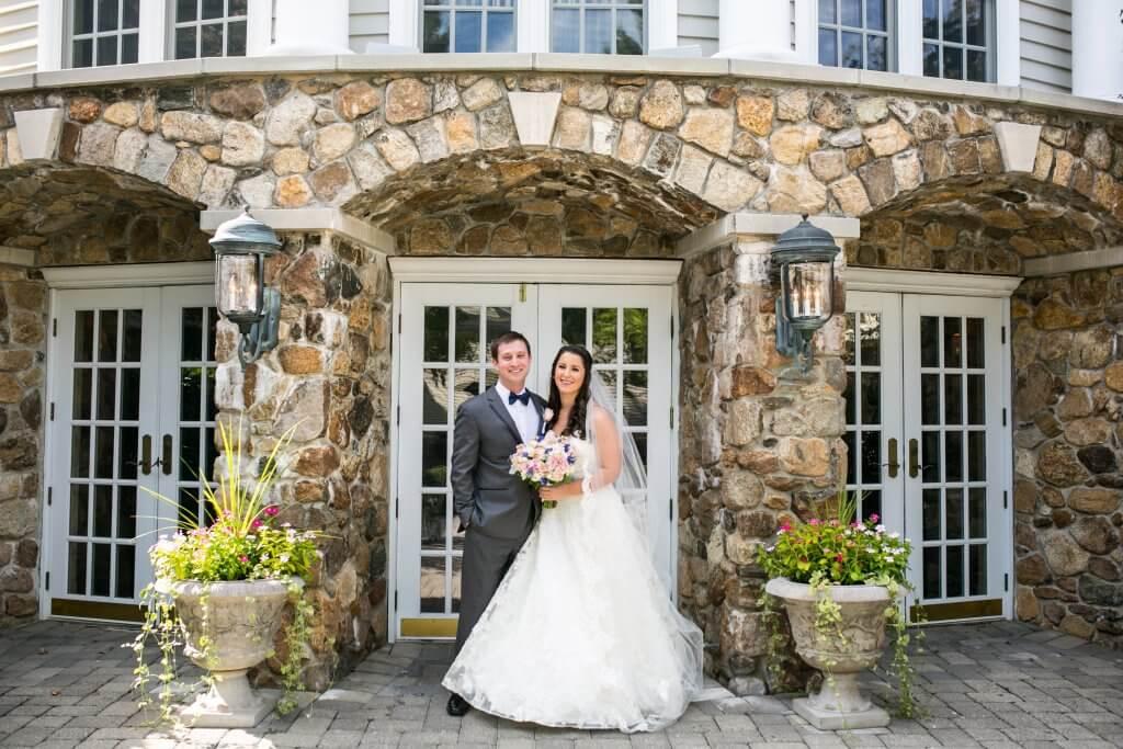 Olde Mill Inn Stone Courtyard Wedding