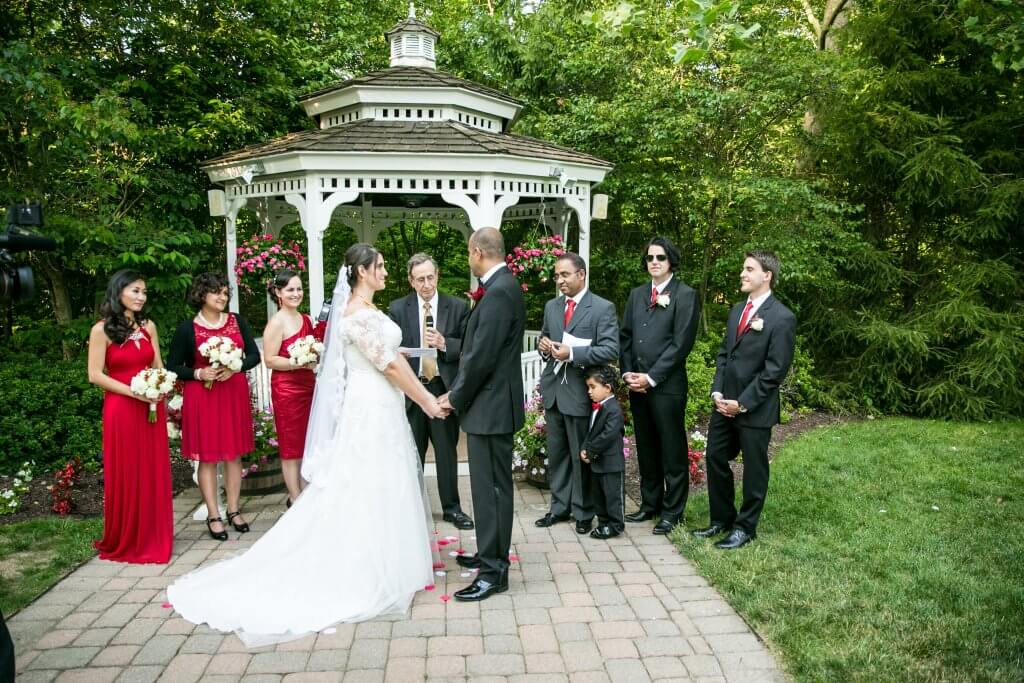 Grain House Wedding Ceremony