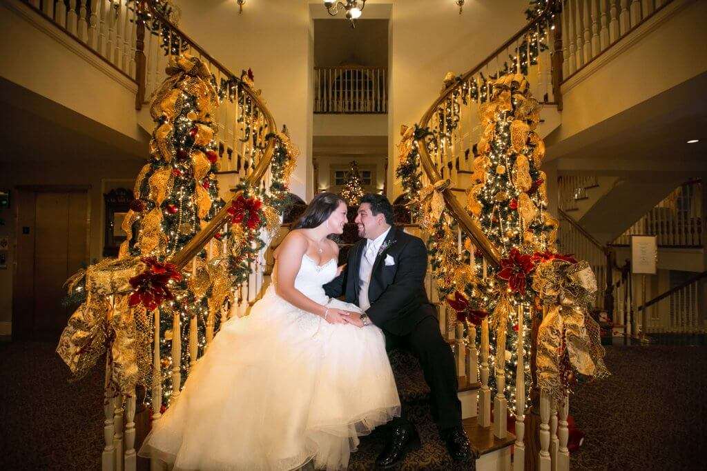 Olde Mill Inn Holiday Wedding