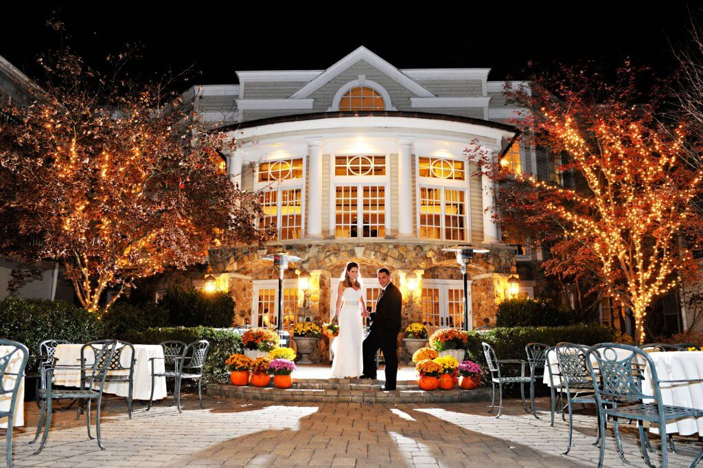 Olde Mill Inn Autumn Wedding