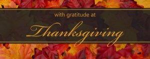 Thanksgiving at the Olde Mill Inn & Grain House