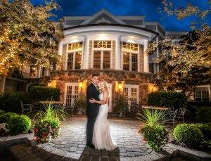 Olde Mill Inn Courtyard Wedding