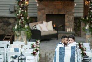 Olde Mill Inn Winter Wedding