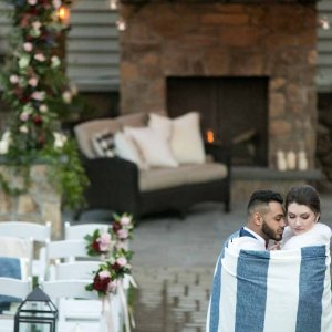 Olde Mill Inn Winter Wedding
