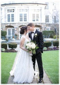 Olde Mill Inn Courtyard Wedding