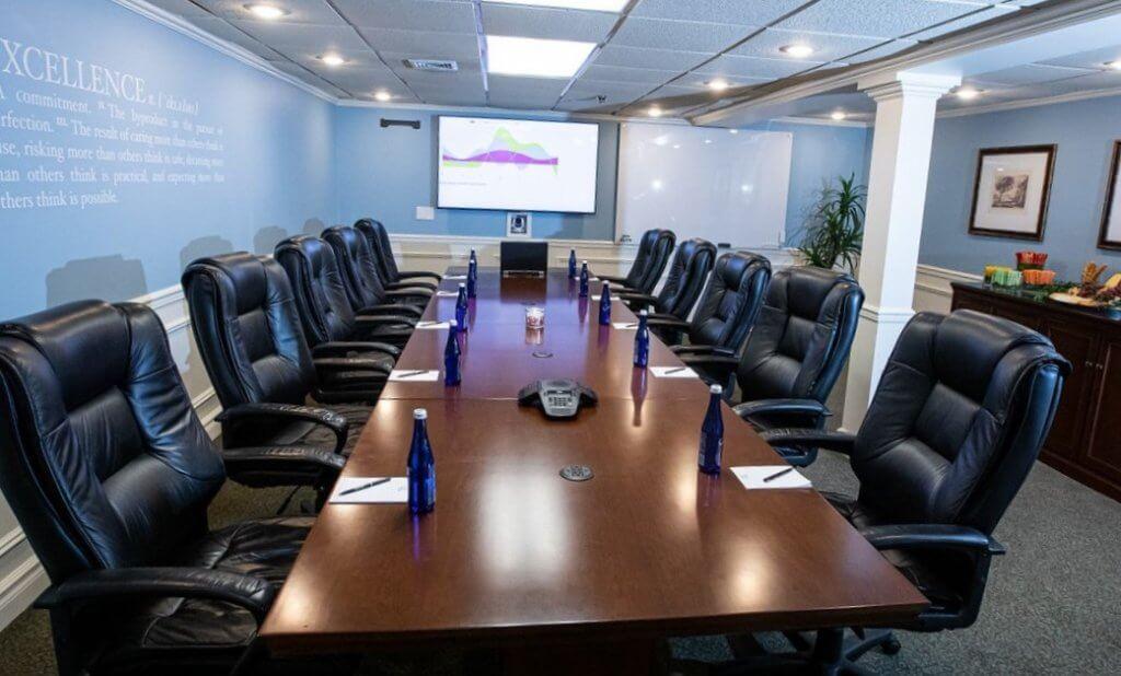 Olde Mill Inn Merchant Board Room Meeting
